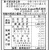App Annie Japan株式会社 第6期決算公告
