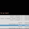 emacsでGo言語(golang)の補完と定義ジャンプをするにはgocodeとgodefを使う