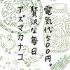 アズマカナコさんの本を読みました!「電気代500円。贅沢な毎日」