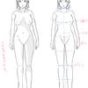 【29】 4/15 「体の描き方を考える。④ -7頭身のパーツの位置と試し描き-」