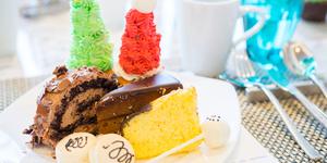 ヒルトン東京お台場X'masデザートブッフェでお腹いっぱいになってきた。