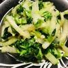 【簡単料理編】白菜にんにく炒め