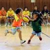 バスケ・ミニバス写真館58 一眼レフで撮影したバスケットボール試合の写真