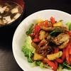 豚肉とパプリカの中華風炒め