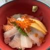 防府市、道の駅「潮彩市場」で海鮮丼を食べるマン