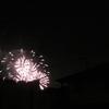 冬の夜空に「花火」が、なぜっ?(^-^)