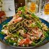 【レシピ】鶏ささみと豆苗の明太塩こんぶサラダ