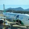 【搭乗記】エバー航空ビジネスクラス サンリオ ばつ丸ジェットに乗ってきた!TPE-FUK BR106