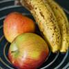 未熟な果物にエチレンガスをたくさん発生させて追熟させる
