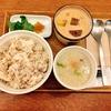 食べるスープの専門店スープストックトーキョーでスープストックセットを!生姜あんと三つ葉が付いた瀬戸内産真鯛の鯛粥&安納焼芋と黒糖ミルクのチェをいただきました!