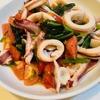 イカの空芯菜炒めを復習してみた
