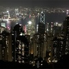 香港・マカオ一人旅その1.オープントップバスとビクトリアピークの夜景