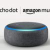 【6月1日まで】AmazonでEcho Dot 第3世代が2台まとめ買いで1台無料、5980円オフ