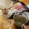 寿司とった、お茶飲みたいが急須がない