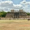 メキシコ チチェン・イッツァ遺跡(2/3) 新チチェン・イッツァ時代遺跡「球技場」「ジャガーの神殿」「頭蓋骨の台座」「 戦士の神殿」