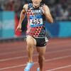 【陸上 短距離】山縣亮太が9秒95の日本新記録!!!そのスパイクがすごかった