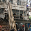 【香港生活】竹の足場