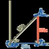 弓道の十文字と三角関数