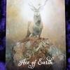 今日のカード Ace of Earth