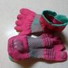 【レビュー】靴下専門店「Tabio (タビオ)」のレーシングランエアー5本指がとても走りやすくておすすめです