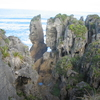 Pancake Rocks -cycling NewZealand -