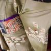 どんぐりの着物とデコの帯