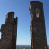 コルクの森と畑地を越えて。辿り着いたのはお城と穴倉みたいな宿。ポルトガル自転車旅10日目。