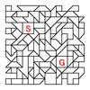 四角渡り迷路:問題6