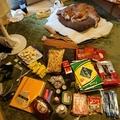韓国からの帰りのスーツケースもパンパンだった。