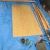 床の表面フワフワ感の修理2/3床収納庫取付と床下補強