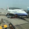 台風9号に終日影響受けてのCI中華航空移動日ぐったり!うんざり!