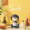 VOCALOID技術を活用して歌うコミュニケーションロボット「Charlie」が、ヤマハから5月に発売予定
