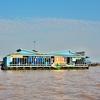 「トンレサップ湖」~百万人が湖上生活をしているという、湖の上の街を訪ねる!! ②