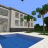【Minecraft】豪邸を作る② 完成・外構編【コンパクトな街をつくるよ25】