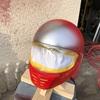 3月4日 ヘルメット塗装3