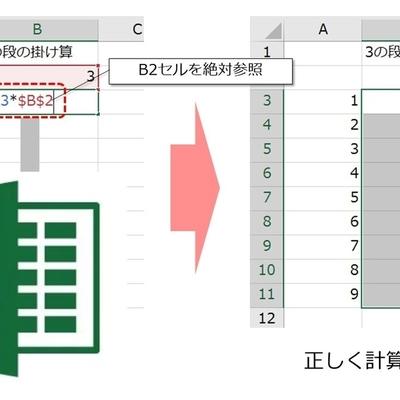 【Excel】数式にエラーが出るのは「絶対参照」をしていないから! 相対参照と複合参照の違いとは?