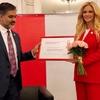 2018サッカーW杯のUNAIDS特別大使にビクトリア・ロピレヴァさんを任命
