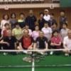 露橋バウンドテニスクラブ 練習風景