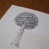 チナミ、進研ゼミが来たで~(^^ / リビングを整理して勉強スペース作った / テル、絵を描く