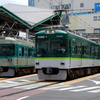 8/12撮影[2]-京阪大津線(700・800系新塗装 ほか)