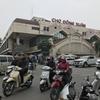 旅の羅針盤:ハノイで「ドンスアン市場」に行って来ました。