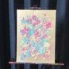 新しく作った作品。色壁にも合わせやすい作品を考える。