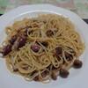 ホタルイカのスパゲティ
