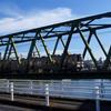 巴川と橋⑦ 2本の橋梁と大正橋