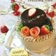生チョコケーキとフランボワーズムース!つやっつやのチョコレートムース!デコレーションケーキ♪トイプードル&ミケちゃんアイシングクッキー!
