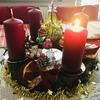 クリスマスハンドメイド、白スプレーに初挑戦