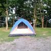 ファミリーキャンプに行くのにテントの色選びで失敗したかも?