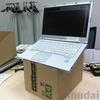 ノートパソコンと 電子ペーパーディスプレイ Boox Max2 のための台をつくった