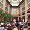 フラトンホテルのアフタヌーンティーでTWGのお茶を堪能する