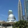 ツインタワー近く!アシャキリンモスクからはツインタワーがきれいに見える